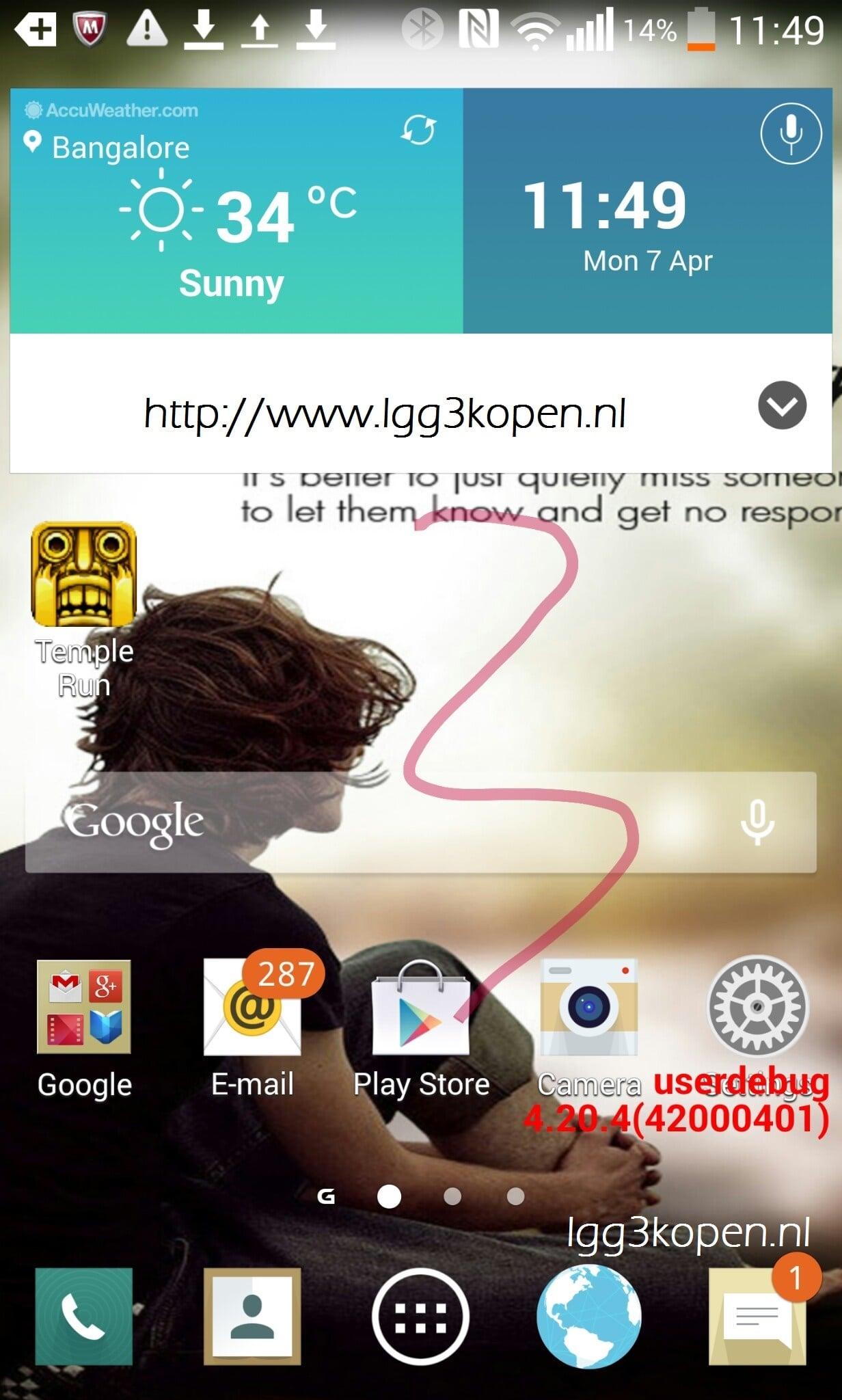 Tabletowo.pl Przy okazji G3, LG zaprezentuje nowy wygląd nakładki? LG Plotki / Przecieki