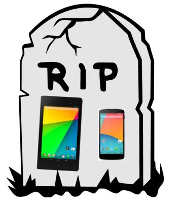 Tabletowo.pl Nadchodzi kres linii Nexus? Android Google Plotki / Przecieki