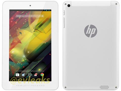 Tabletowo.pl Nowy tablet HP z Androidem wyciekł do sieci Android HP Plotki / Przecieki Tablety