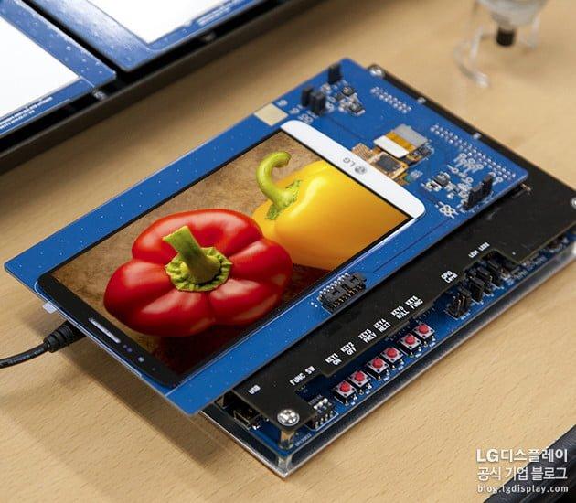 Tabletowo.pl LG w przyszłym tygodniu pokaże 6–calowy ekran QHD LG Nowości Smartfony Tablety