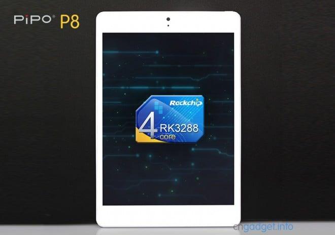 Tabletowo.pl Pipo P8 - 35 tysięcy w AnTuTu, 7,9 cali i 700 złotych Android Chińskie Nowości Tablety