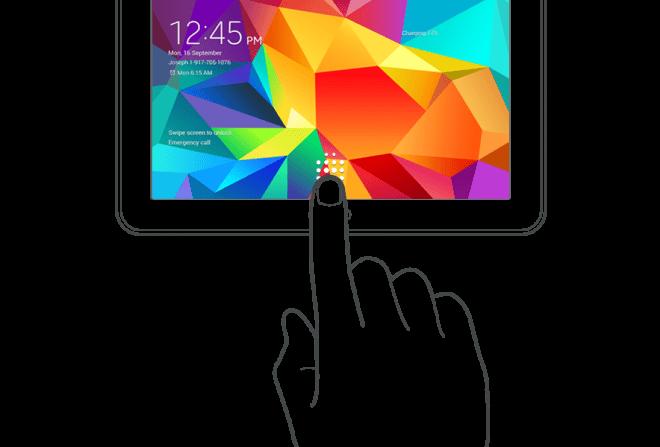 Samsung Galaxy Tab S będzie mieć czytnik linii papilarnych 28