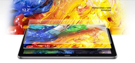 WQXGA Galaxy Note 12,2