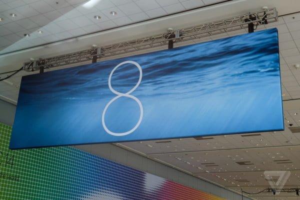 WWDS 2014 - premiera iOS 8