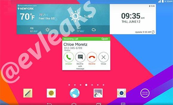 Kolejny przeciek nakładki LG przypomina raczej coś dla tabletu, aniżeli G3 25