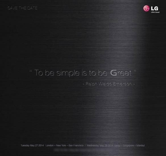 Tabletowo.pl LG zaprasza na wydarzenie, na którym zaprezentuje LG G3 Nowości