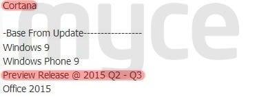 Windows Phone 9, Windows 9 i Office 2015 w następnym roku?  16