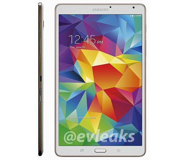 Tabletowo.pl W sieci pojawiły się zdjęcia prasowe Samsunga Galaxy Tab S 8.4 Plotki / Przecieki Samsung