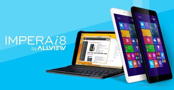 Tabletowo.pl Allview prezentuje tablet Impera i8 i dwa smartfony Impera S oraz I Microsoft Smartfony Tablety Windows