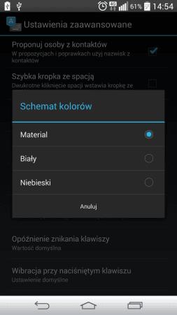 Tabletowo.pl Klawiatura z Androida L do pobrania z Google Play! Android Aplikacje