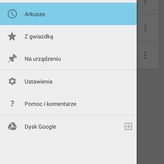 Tabletowo.pl Dokumenty, Arkusze i Prezentacje Google z aktualizacją interfejsu. Jest Material Design Aktualizacje Android Aplikacje Nowości