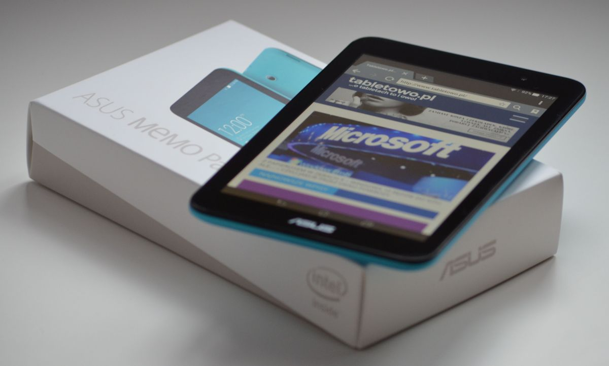 Recenzja tabletu Asus MeMo Pad 7 ME176C z Intel Atom Z3745 i Androidem KitKat z Zen UI 23
