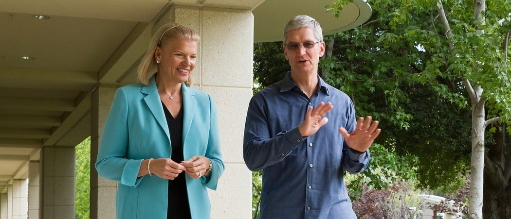 Apple i IBM łączą siły - piekło zamarzło 25
