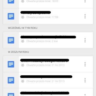 Dokumenty, Arkusze i Prezentacje Google z aktualizacją interfejsu. Jest Material Design 19