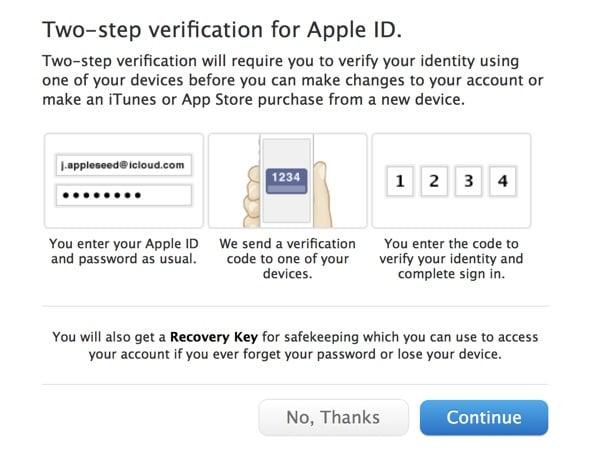 Tabletowo.pl Dwuetapowa weryfikacja Apple ID już dostępna w Polsce! Apple Oprogramowanie