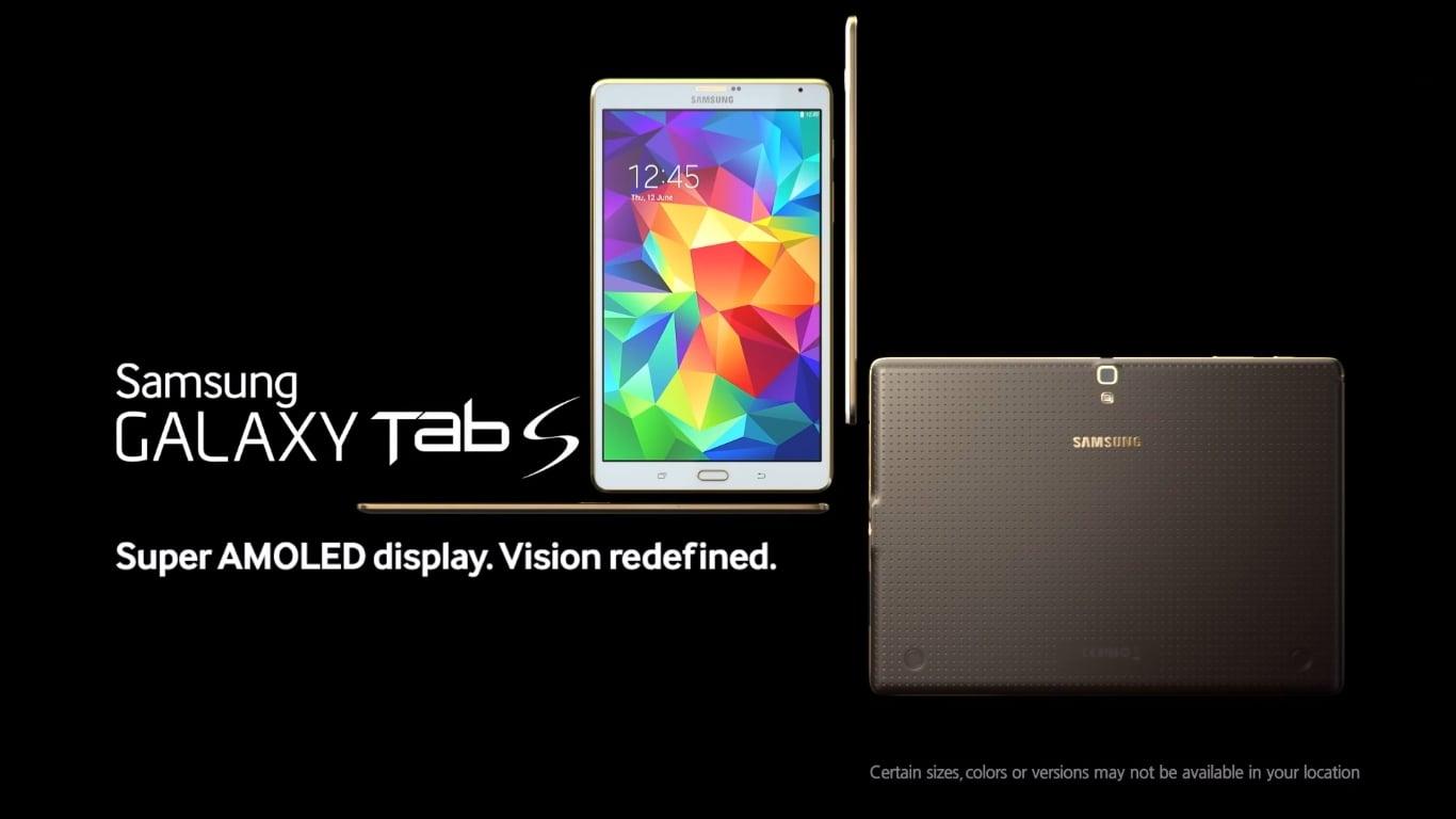 Tabletowo.pl Nowe reklamy od Samsunga prezentujące zalety serii Galaxy Tab S Ciekawostki Samsung Tablety