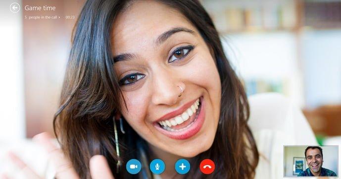 Tabletowo.pl Wideorozmowy grupowe na Skype w aplikacji Modern UI Aktualizacje Aplikacje Microsoft Windows