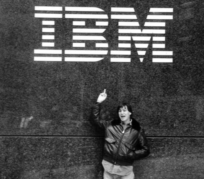 Tabletowo.pl Apple i IBM łączą siły - piekło zamarzło Apple IBM iOS