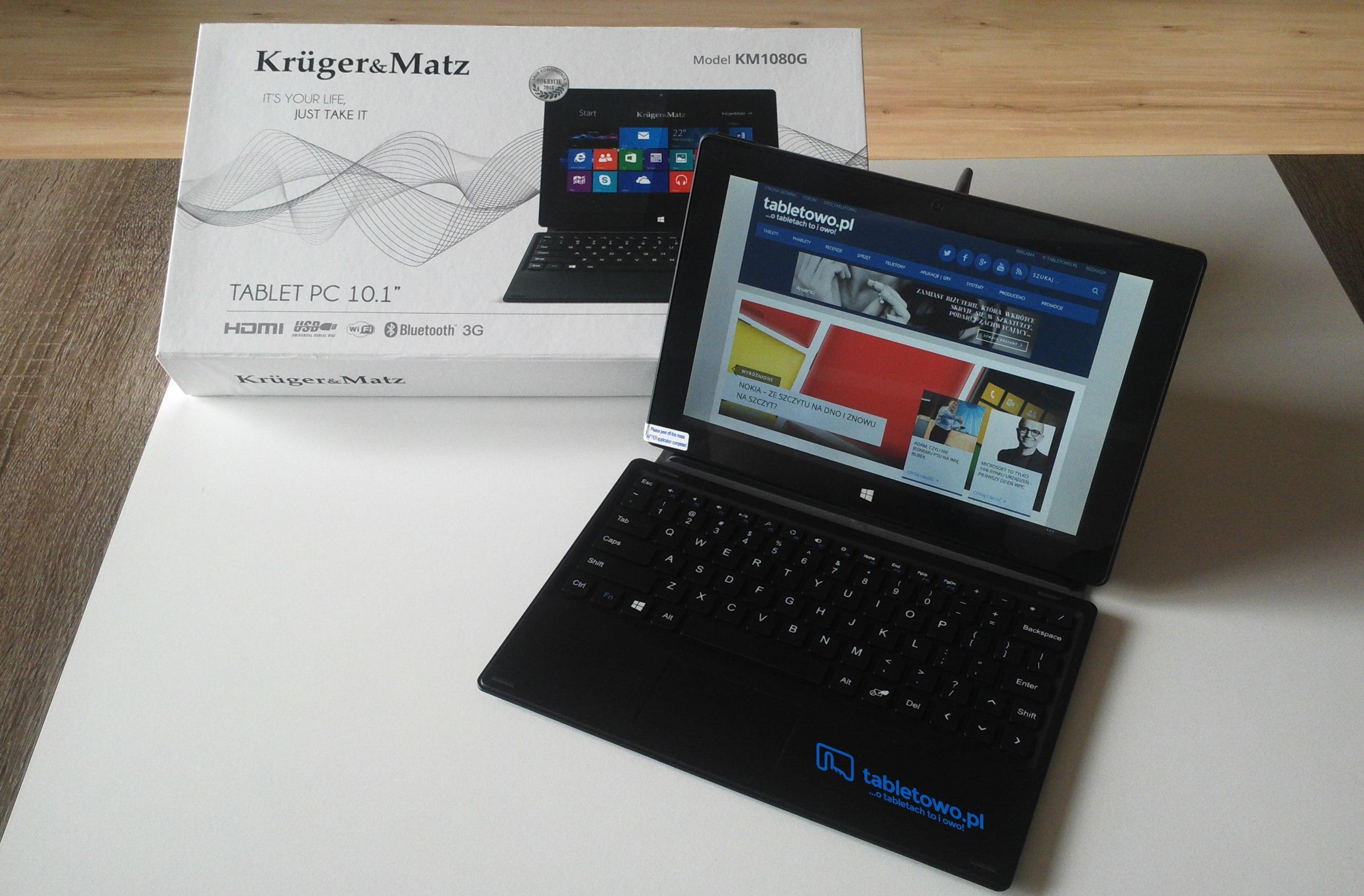 Tabletowo.pl Do naszej redakcji zawitał Krüger&Matz KM1080G - czekamy na Wasze pytania [aktualizacja] Kruger&Matz Nowości Tablety