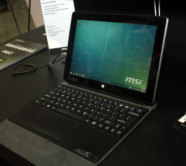 Tabletowo.pl Tablet MSI dostrzeżony w FCC - czy jest to S100? Chińskie Hybrydy Plotki / Przecieki Tablety Windows