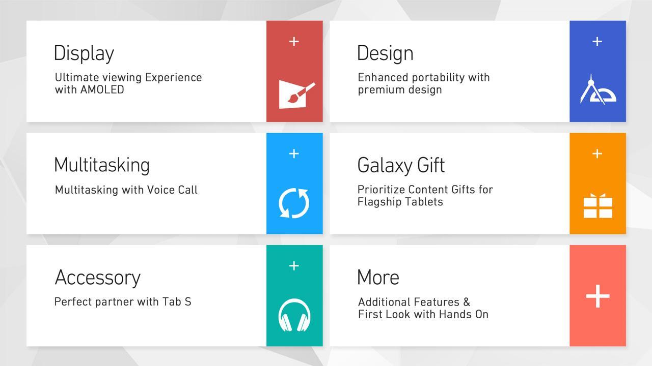 Tabletowo.pl Aplikacja Galaxy Tab S Experience przybliży zainteresowanym tablety z serii Galaxy Tab S Aplikacje Nowości Samsung Tablety