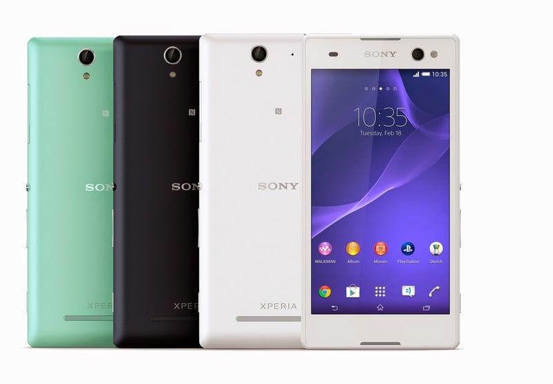 Tabletowo.pl Sony Xperia C3 - 5,5-calowy sprzęt z kamerką 5 Mpix i diodą LED idealną do... selfie Android Nowości Smartfony Sony