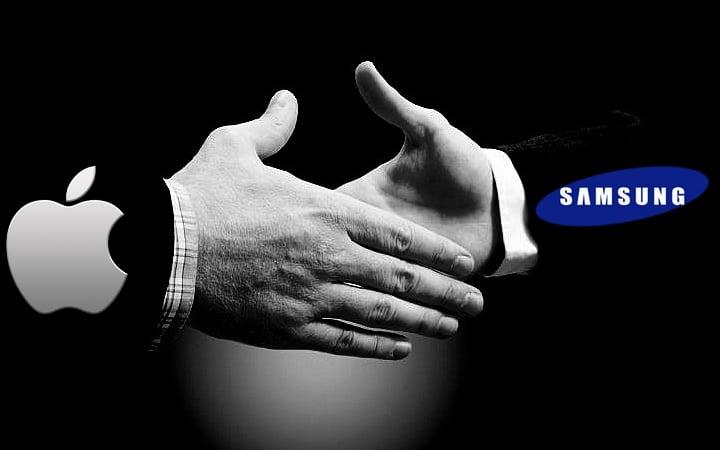 Tabletowo.pl Apple i Samsung zakopują topór wojenny - jednak nie w USA Apple Nowości Samsung