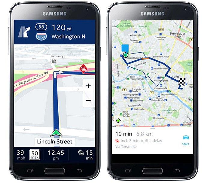 Tabletowo.pl Mapy HERE dla Samsungów Galaxy, czyli jak Koreańczycy uniezależniają się od Google'a Aplikacje Ciekawostki Samsung