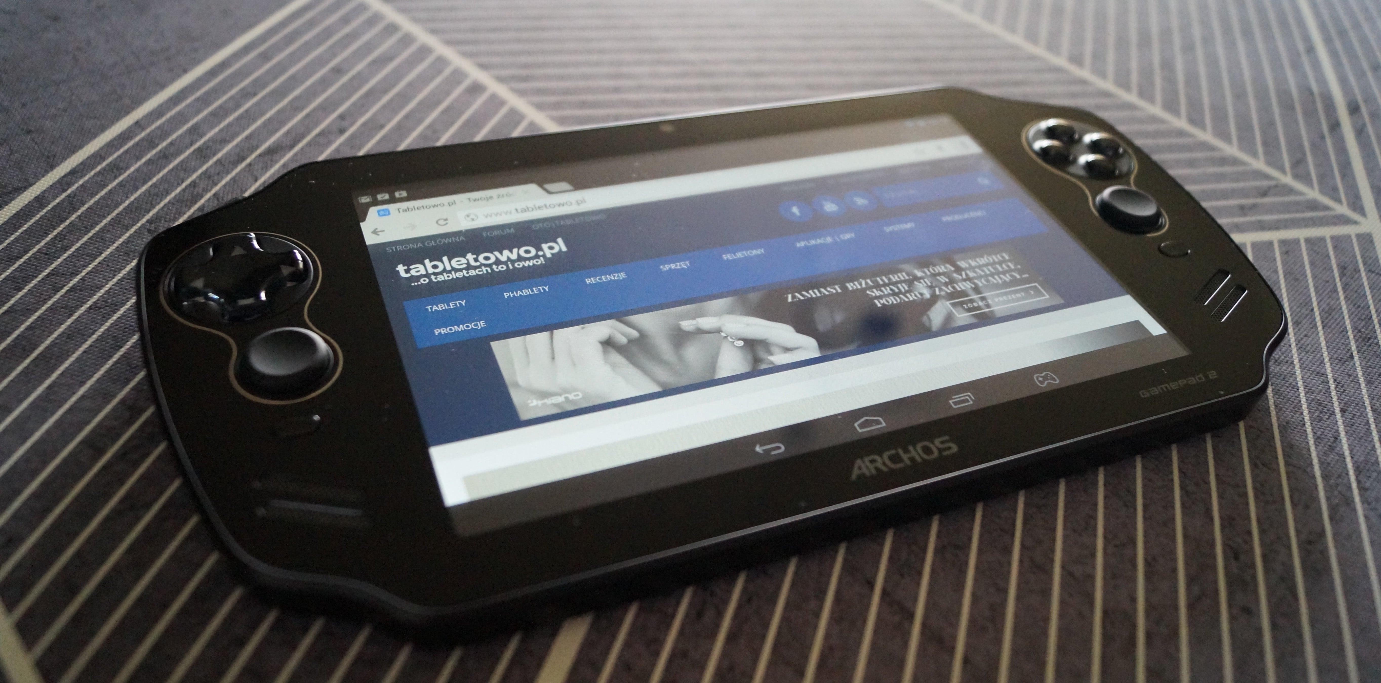 Tabletowo.pl Archos Gamepad 2 w naszych rękach - co chcielibyście wiedzieć? Android Archos Tablety