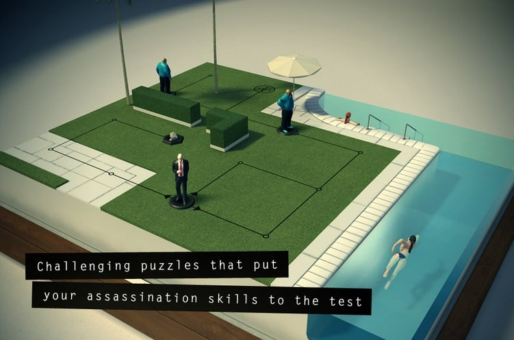 Brać i grać! Hitman GO za darmo na iOS i Androida