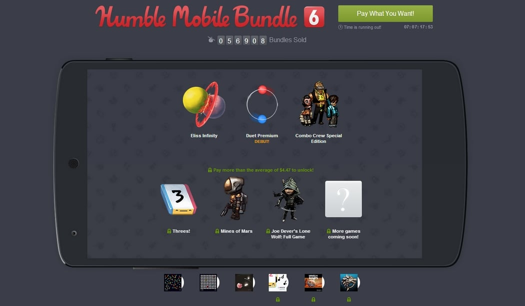 Tabletowo.pl Humble Mobile Bundle 6 Android Gry Nowości