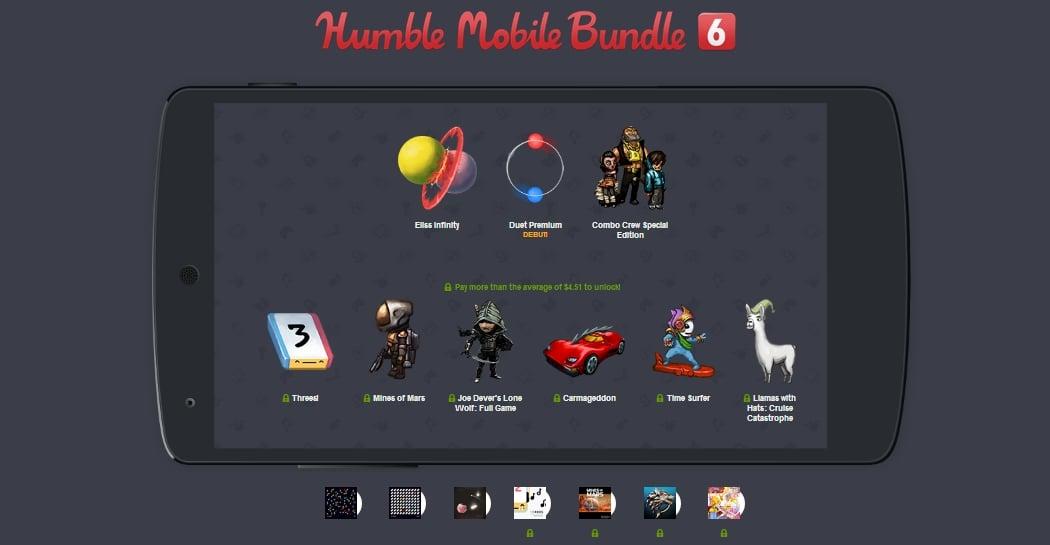 Tabletowo.pl Humble Mobile Bundle 6 powiększone o trzy tytuły Android Gry Nowości
