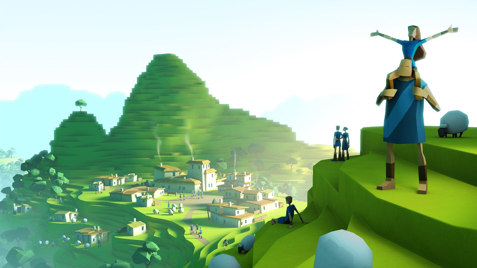 Tabletowo.pl Godus - nowy symulator boga od Petera Molyneux Gry iOS