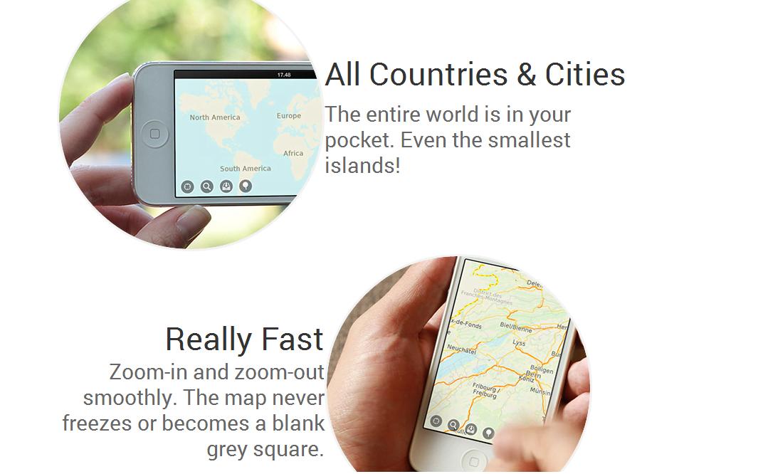 MAPS.ME teraz za darmo na iOS 20
