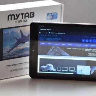Tabletowo.pl MyTab Mini 3G od jutra w Biedronce za 379 złotych, a u nas już dziś jego szybki test Android Nowości Recenzje Tablety