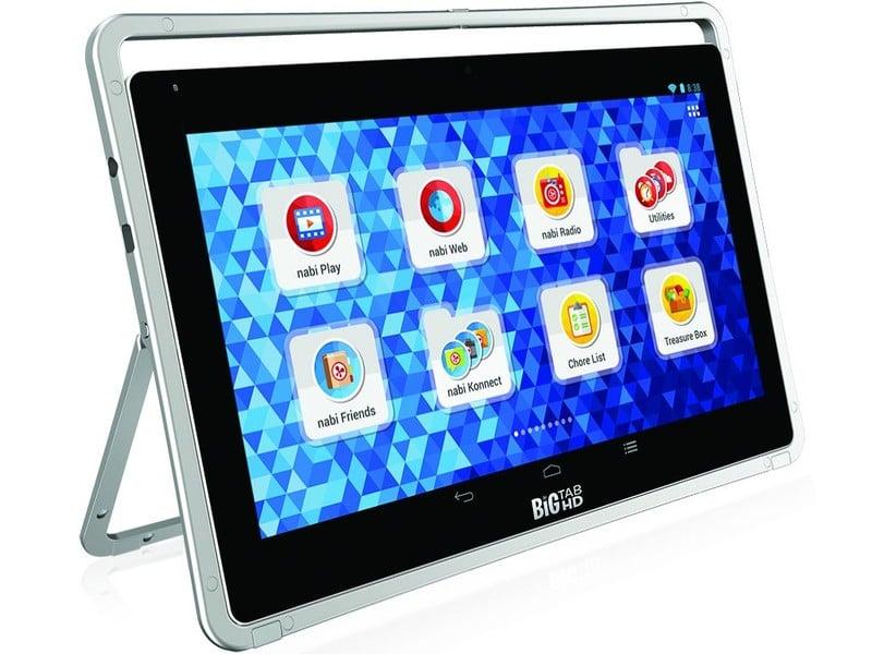 """Tabletowo.pl Fuhu Nabi Big Tab HD 20"""" i 24"""" to ogromne tablety dla całej rodziny Android Nowości Tablety"""
