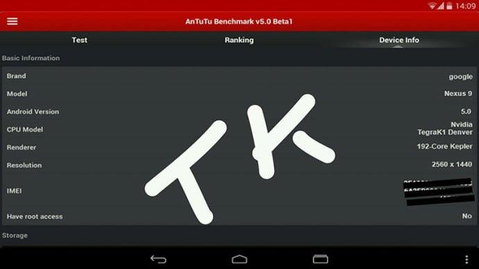 Nexus 9 AnTuTu 1