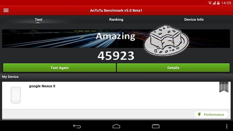 Tabletowo.pl Nexus 9 osiągnął świetny wynik w AnTuTu! Android Google HTC Plotki / Przecieki Tablety