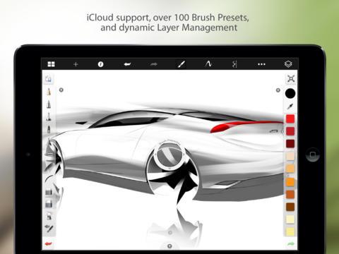 Tabletowo.pl SketchBook Pro dla iPada za darmo! Aplikacje Apple iOS Promocje