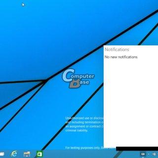 Tabletowo.pl Wyciekły screeny z Windowsa 9 - a na nich menu start, aplikacje Modern w okienkach, wirtualne pulpity i powiadomienia Aktualizacje Microsoft Plotki / Przecieki Windows