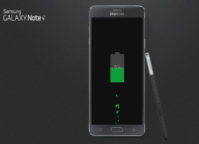 Ładowanie Note 4
