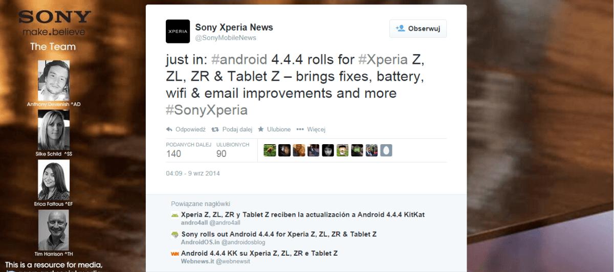 Aktualizacja_Xperia Tablet Z_4.4KitKat