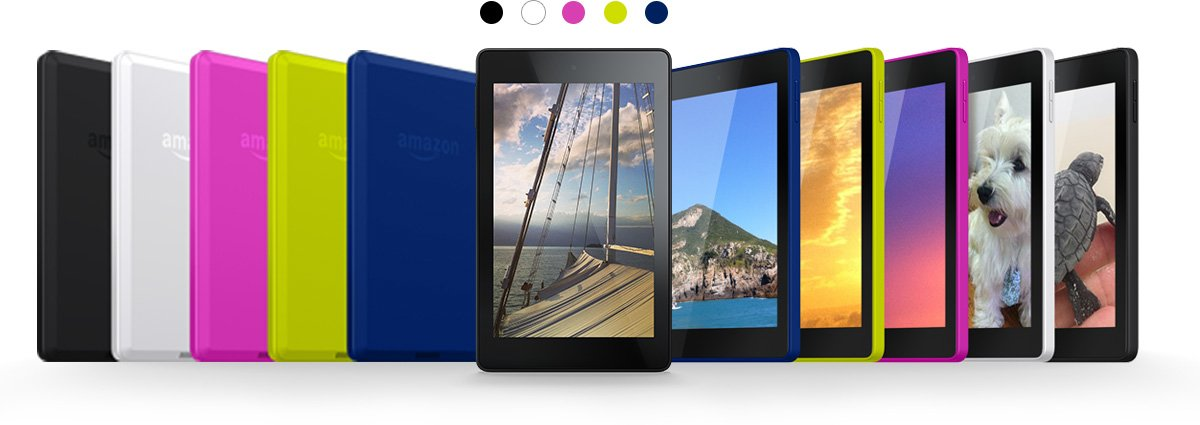 Tabletowo.pl Kindle Fire HDX 8.9, Fire HD 7 i Fire HD 6 - kolejne nowości od Amazonu Android Nowości Tablety