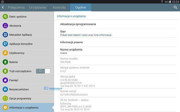 Tabletowo.pl Android 4.4.2 KitKat dla Samsunga Galaxy Note 10.1 2014 przywędrował do Polski Aktualizacje Android Samsung Tablety