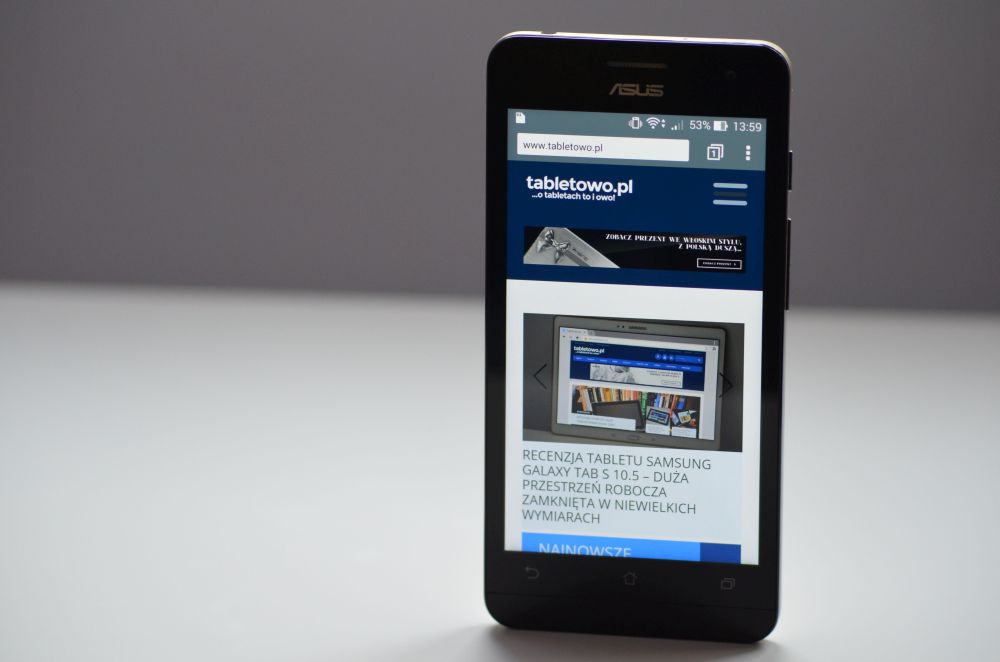 Tabletowo.pl Asus aktualizuje rodzinę ZenFone do KitKata Aktualizacje Asus Smartfony