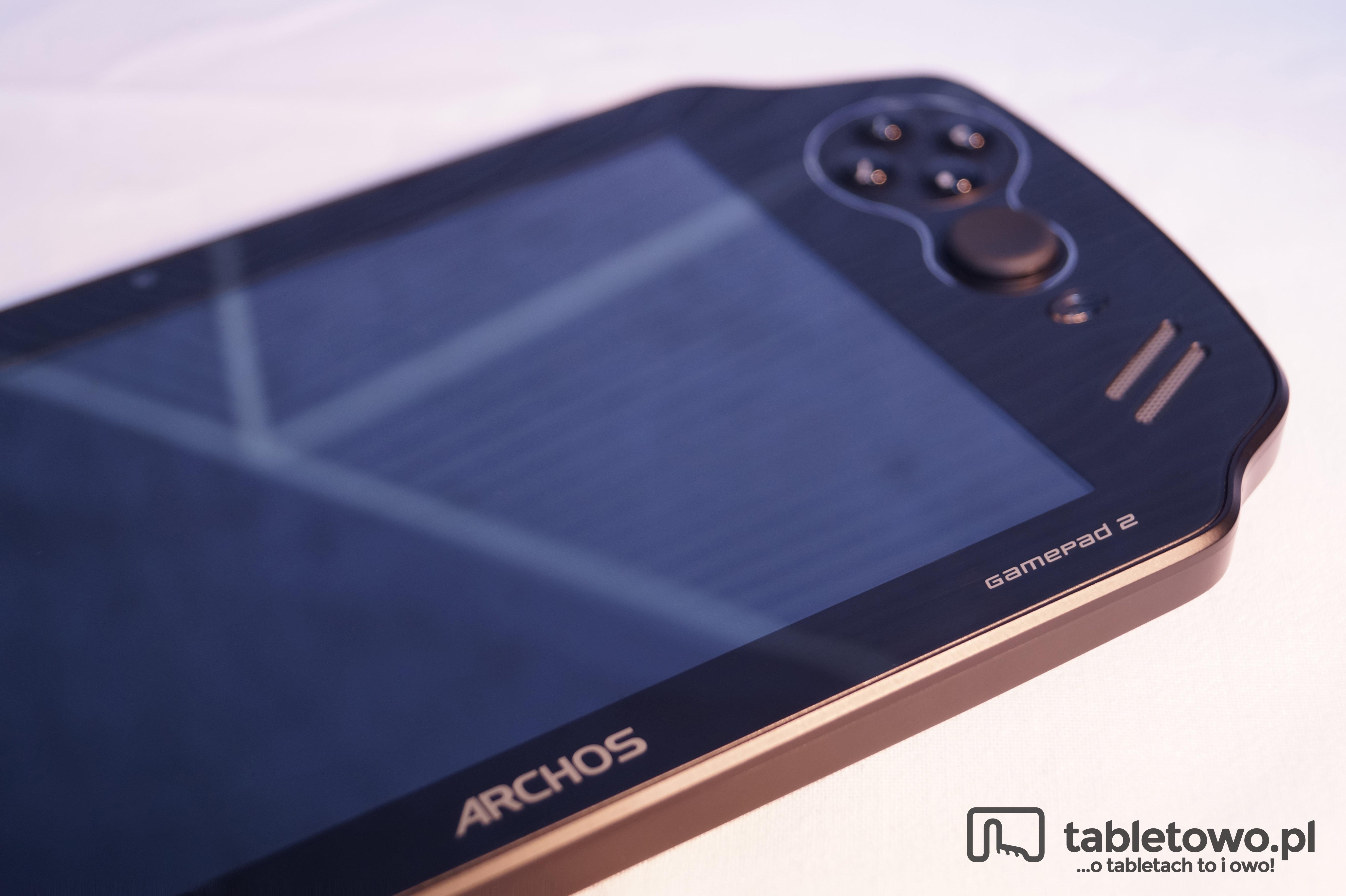 Tabletowo.pl Recenzja Archos Gamepad 2 - tablet czysto rozrywkowy Android Archos Recenzje Tablety