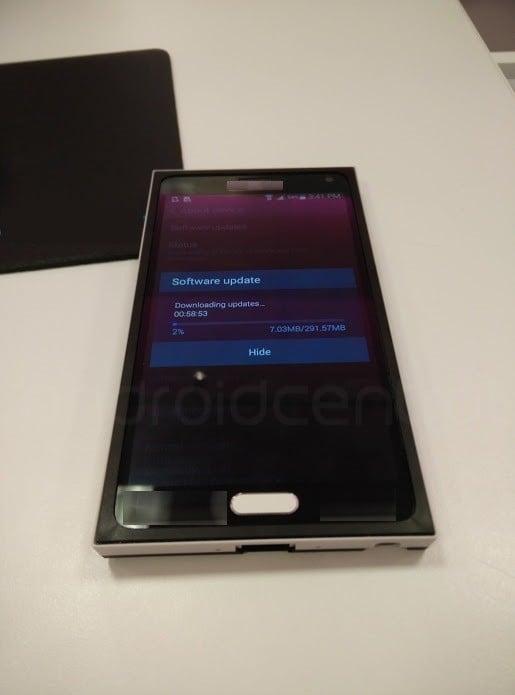 Tabletowo.pl Samsung Galaxy Note 4 - gwiazda z Korei dotarła do Berlina Android Plotki / Przecieki Samsung Smartfony
