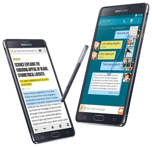 Tabletowo.pl Galaxy Note 4 zadebiutuje w stu czterdziestu krajach do końca października Android Samsung Smartfony