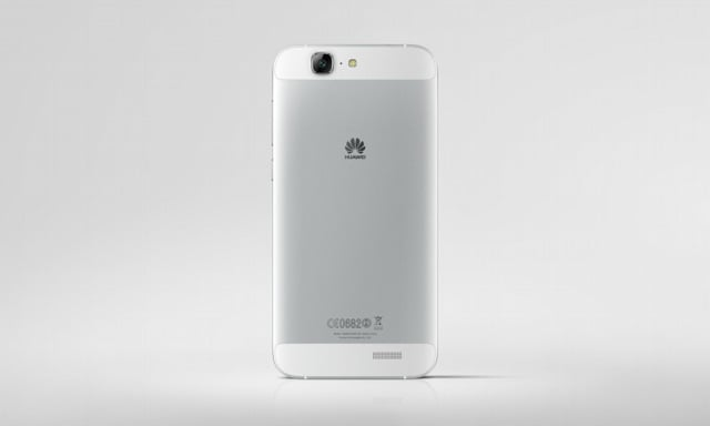 Huawei Ascend G7_Single_Silver Back Face_Hi res