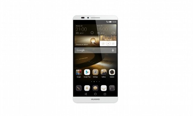 Huawei Ascend Mate7_Single_Gray Front Face_Hi res